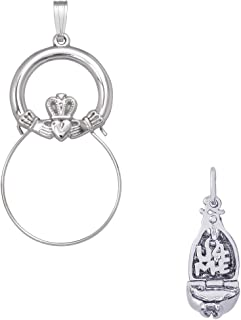 Rembrandt Charms Fortune Cookie Charm on an Optional Charm Holder