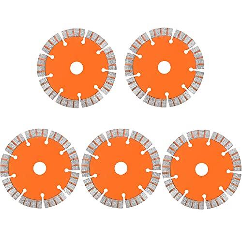 Huanyu 5 piezas de cuchilla de 125 mm para máquina de corte...