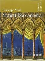 Giuseppe Verdi - Simon Boccanegra: Full Score
