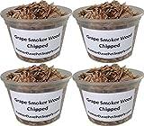 FarmerDavePetSupply Grape Chips Smoker Wood - 4 Pint Pack
