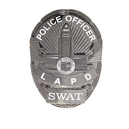 Fosco - Insignia de Metal para policía (8,5 x 5,6 cm, 125 g)