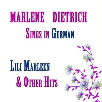 Marlene Dietrich sings in German, Lili Marleen & other hits