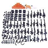 DUS Jouet D'arme Personnalisée Arme Militaires Accessoires pour SWAT Police Figurine...