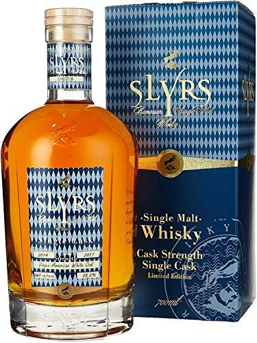 Slyrs Bavarian Whisky Cask Strength Edition 2017 Virgin American Oak 0.7L 55,8% limitierte Edition
