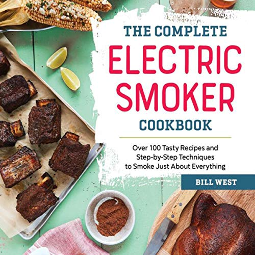 The Complete Electric Smoker Cookbook audiobook cover art