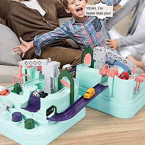 Juguetes para niños Autismo Aventura Juguetes, Aventura de automóvil Pista de carreras de automóviles Juguetes, Edificio de automóviles Ciudad Ciudad Ingeniería Vehículos Vehículos Playsets, Preescola