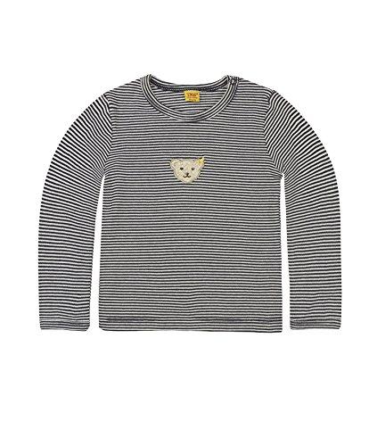 Steiff Unisex - Baby shirt met lange mouwen 1/1 arm