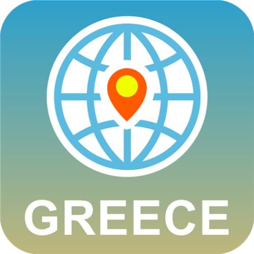 Grecia Mapa Desconectado