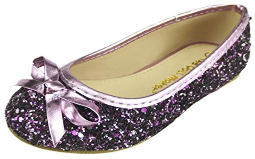 The Doll Maker Glitter Ballet Flat-TD171001A-8 Purple