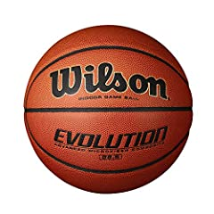 THE #1 INDOOR BALL: The Evolution is the #1 indoor game basketball in America, on more courts than any other basketball Signature EVO feel: the soft feel that the evolution basketball is famous for is due it's cushion core carcass, making the ball so...