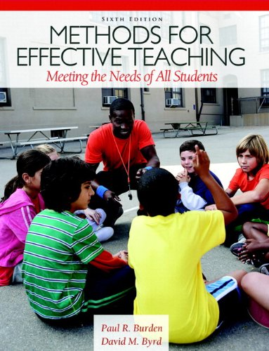Methods for Effective Teaching: Meeting the Needs of All Students Plus MyEducationLab with Pearson eText -- Access Card