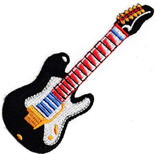 Parche bordado para coser o planchar para guitarra eléctrica, para coser o...