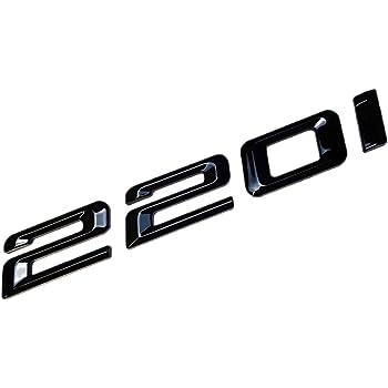 Mck Auto 218d Schwarzes Glänzendes Logo Hinten Emblem Tuning Für F22 F45 F46 Hb4l4 Auto