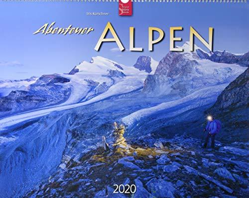 Abenteuer Alpen: Original Stürtz-Kalender 2020 - Großformat-Kalender 60 x 48 cm