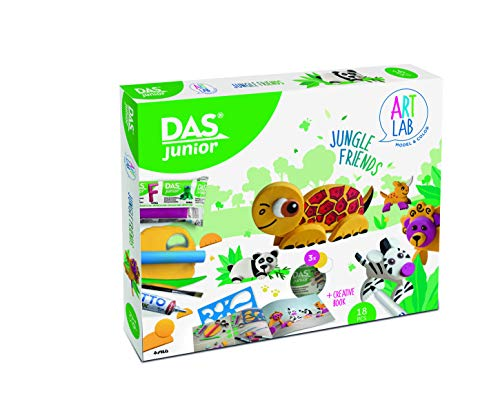 Das Junior- Art Lab Jungle Friends, Multicolore, 348500