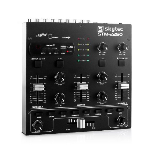 Skytec STM-2250 Mixer 4 canali USB SD MP3