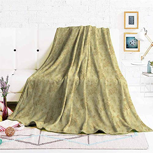 hengshu Soft Throw Blanket for Bed Couch Lightweight Life Comfort Blanket W70 x L84 Inch