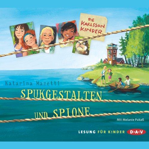 Spukgestalten und Spione audiobook cover art
