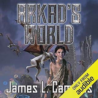 Arkad's World audiobook cover art