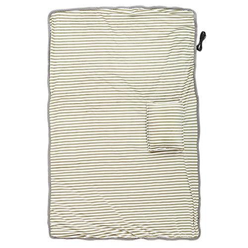 Manta de hombro duradera de alta calidad, manta de calefacción eléctrica, 2 colores cómodo grueso para oficina en casa(Light Brown)