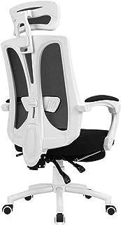 Desk Chairs DBL Confort Silla de Oficina, Respaldo Alto Giratorio Silla del Acoplamiento del reposabrazos Silla de Escritorio, Silla de la computadora Ajustable reposacabezas Las sillas de Escritorio