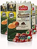 Gefen Whole Organic Chestnuts, Roasted & Peeled , 5.2-Ounces (Pack of 12)