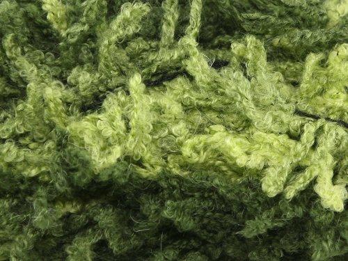 Stylecraft Poodle Mohair Scarf Knitting Yarn Sage 1716 - per 100g ball
