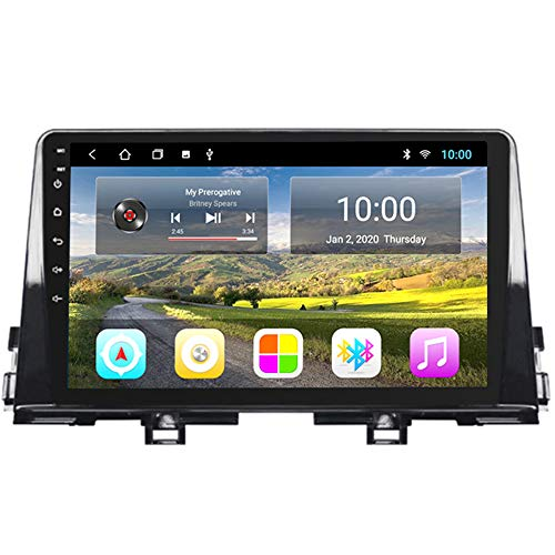 GOFEI Android 10 Multimedia Stereo Car DVD Player Navigation GPS Radio for KIA PICANTO Morning 2016-2019 Support Mirror Link Bluetooth Hands Free Steering Wheel Control,WiFi 2+32g