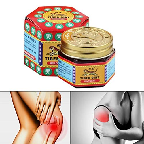 BASOYO Tiger Oil Balm Active Cream Refresh Cold Headache Dizziness Muscle Relax Essential Oil for Refreshing
