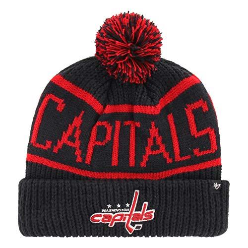 47 Brand Washington Capitals Wraparound NHL Wintermütze Navy, One Size
