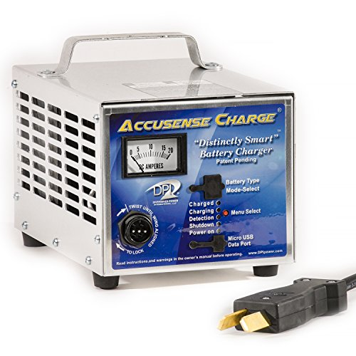 DPI 36volt 18 Amp Golf Cart Battery Charger with Crowfoot Connector