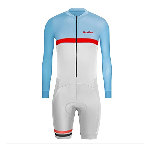 470ff2afe Uglyfrog 2016 New Men s Breathable Spring Autumn Long Sleeve Skinsuit Cycling  Kit with Gel Pad Outdoor Sports