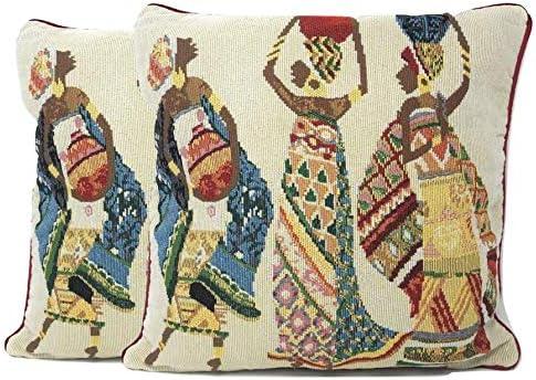 African woman rug _image2