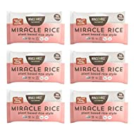 Miracle Noodle Miracle Rice - Plant Based Shirataki Rice, Keto, Vegan, Gluten-Free, Low Carb, Paleo, Dairy Free, Low Calories, Kosher, Soy Free, Non-GMO - Perfect for Your Keto Diet - 8 oz (Pack of 6)