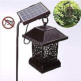 LGFB Été en Plein air Tueur moustiques imperméable à l'eau 50-100 Alimentation Solaire carré éclairage LED Convient pour Le Jardin Parc Villa Camping