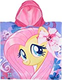 My Little Pony Kids Hooded Poncho Towel (Light Pink)