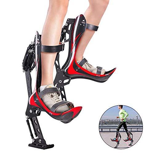 LFLDZ Spring Stelzen Sprungschuhe, Sprung Stelzenschuhe, Sprungschuhe für Kinder Kind Jugend Gewichtsbereich 30-50 kg (200-242 lbs / 90~110 kg)