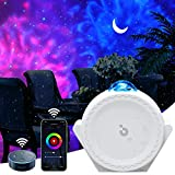 Star Projector, 3-1 LED Smart Night Light Projector Moon Lamp with Smart App & Timer & Voice Control, Multi Lighting Effects Galaxy Projector for Kids Bedroom/Game Rooms/Home Theatre/Room Decor