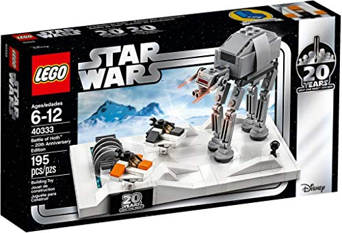 LEGO Star Wars Battle of Hoth 20th Anniversary Edition Set 40333