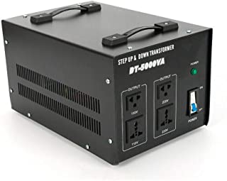 1000-3000/5000 W, 220 V/230 V naar 110 V AC, spanningsomvormer, ringkerntransformator, voltage converter, automatische sta...