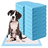 Giantex Puppy Pet Pads Dog Cat Wee Pee Piddle Pad, Powerful Absorption, 5-Layer Design, Comfortable Pet Training and Puppy Pads (150 Count, 36'' x 24'')