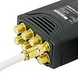 PremiumX Deluxe Octo LNB SAT für 8 Teilnehmer Digital Satelliten Signalumsetzer DVB-S2 TV HD UHD 4K - 5