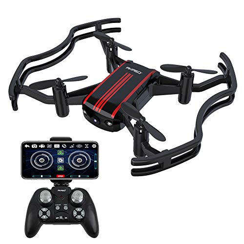 AKASO A21 Mini Quadcopter Drone Camera Live Video with 720P HD FPV...