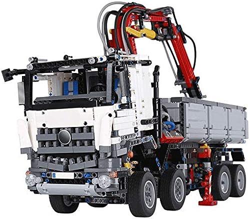 garantizado DishyKooker City City City RC Camiones Technic Big Mack Truck Modelo Building Blocks Heavy Construction Vehículos Legoings sin Caja  elige tu favorito