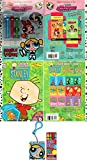 Cartoon Network Children's Value Pack-Powerpuff Girls Double Vision Coloring Book w/Powerpuff Girls Shaped Crayons-Powerpuff Girls Activity Book Key Chain-Stanley Sticker/Coloring Book & Crayons