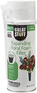FloraCraft Great Stuff Expanding Floral Foam Filler 12 Ounce