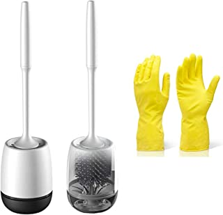cleaning gloves with bristles