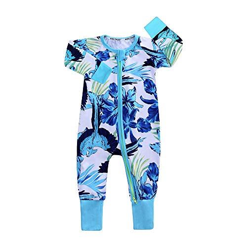 Pasgeboren baby Cotton rompertjes Infant Jongens Meisjes met korte mouw Costume Jumpsuits baby baby kleding for de herfst (Size : 100)