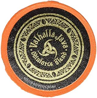 Valhalla Java Single Serve Coffee Pods for Keurig / K Cup Style 2.0 Brewers, Fair Trade and USDA Certified Organic (10 Count)