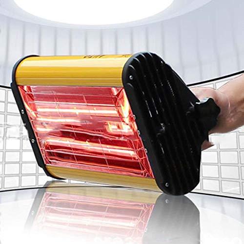 TERMALY Lampada Polimerizzazione Vernice Infrarossi Cottura,1kw Cottura a Infrarossi a Onde Corte per Vernice Lampada Portatile a Infrarossi per La Riparazione del Corpo